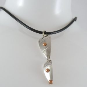 Mite-Frizz Necklace – Nickel w/ Copper Accents