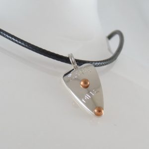 Mitey-Mite Necklace – Nickel w/ Copper Accents